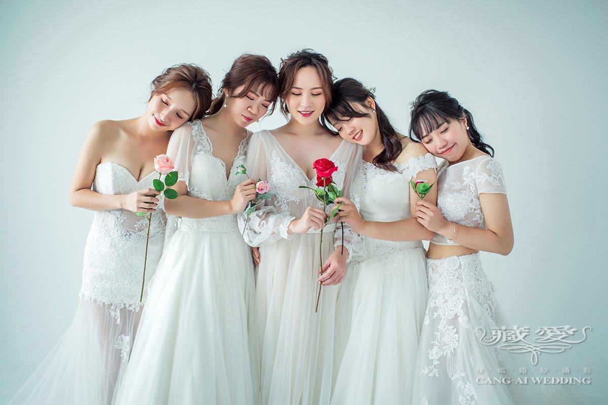 藏愛婚紗-為自己記錄下最美的時刻和真摯的友誼|個人寫真|閨蜜照|形象照