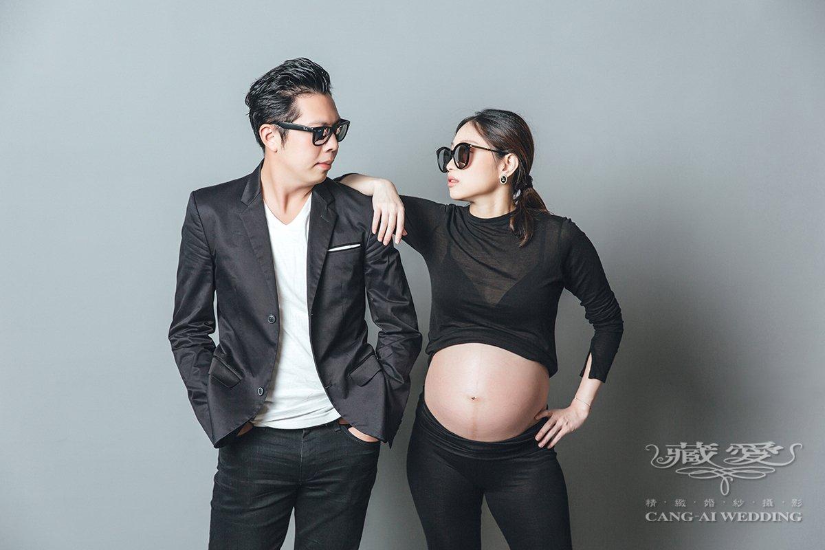 藏愛婚紗-一個人承載著兩個人的心跳與生命,溫柔且堅強著 孕婦照 孕婦寫真