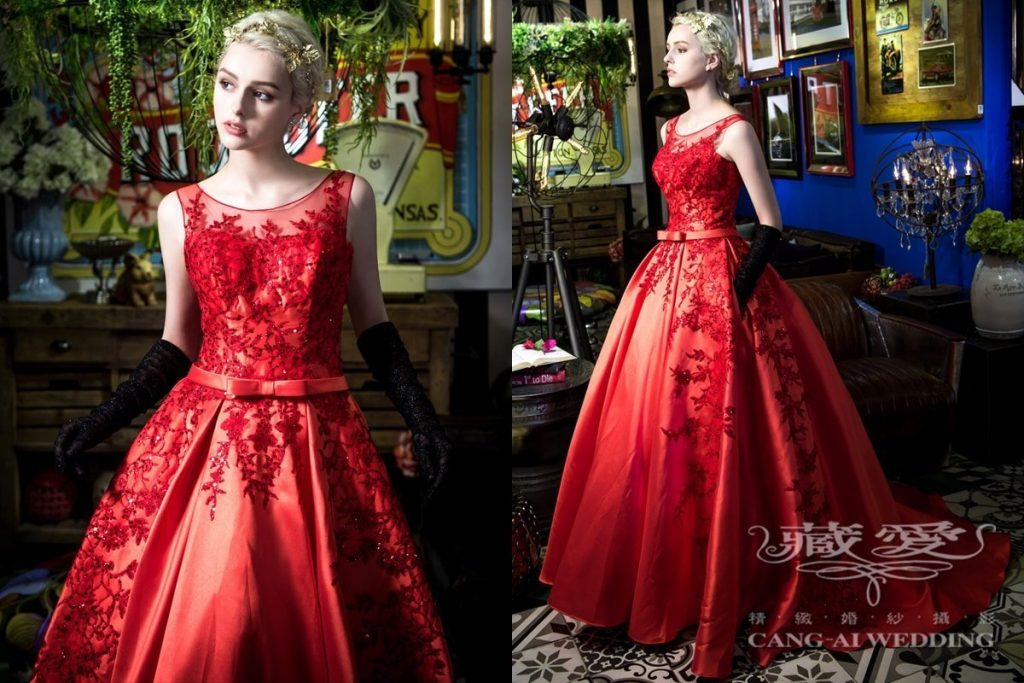 evening gown double 59