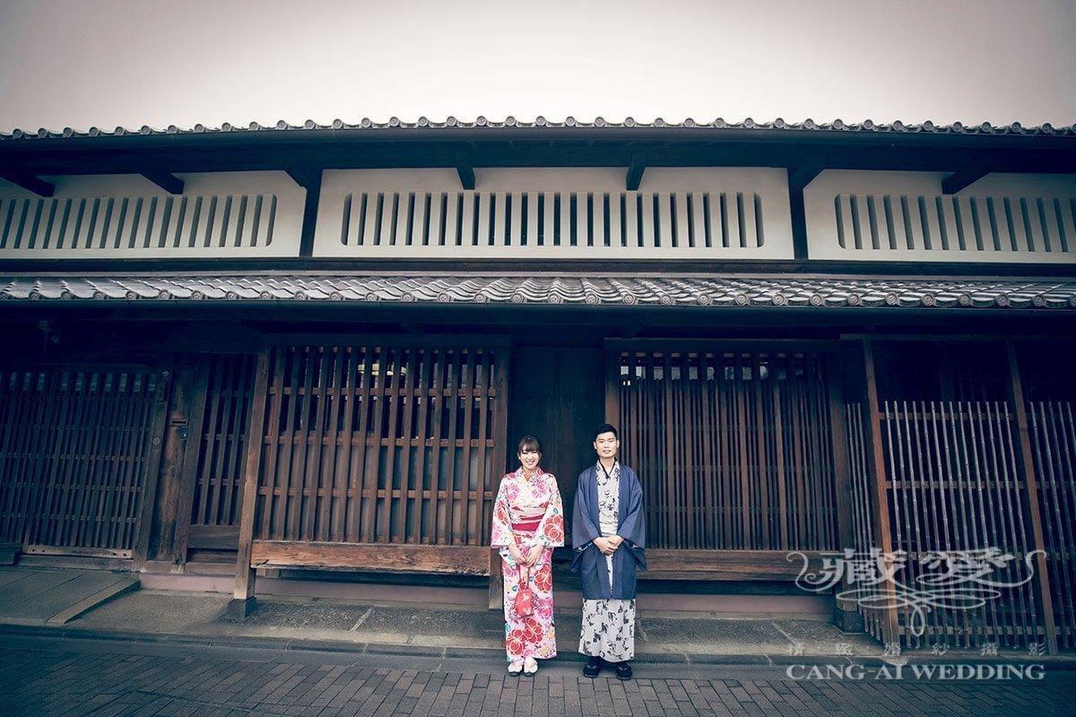 藏愛婚紗-京都櫻花之美+奈良可愛梅花鹿+神戶港 婚禮式場|令人難忘日本自助旅拍